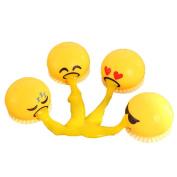 Honhui Squishy Toy, Spitting Yolk Emoji Egg Prank Squeeze Stress Relief Novelty Gag Toys Gifts