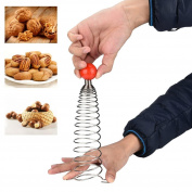 Efaster Spring Nut Crusher Walnuts Pecan Fruit Macadamia Nuts Wedge Broken Shell Tools Opener