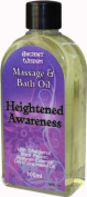 FUTURE INSIGHTS® 100ml Pure Essential Oil Aromatherapy MASSAGE OIL & BATH OIL Heightened Awareness