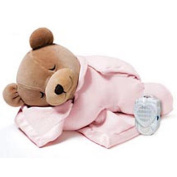 Prince Lionheart Original Slumber Bear with Silkie Blanket – Pink Colour