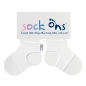 lunaloop sock' Ons White 6 – 12 Months
