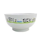 Basilic BPA FREE Cute Baby Toddler Kid PP Bowl - Cow Farm Pattern