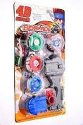 Aaryan Enterprise Beyblade With Metal Fury 4D System Beyblade Spinning Toy
