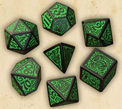 Q-Workshop Call of Cthulhu The Outer Gods Cthulhu Dice Set