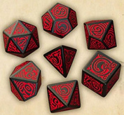 Q-Workshop Call of Cthulhu The Outer Gods Nyarlathotep Dice Set