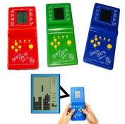 Kids' Toys Educational Tetris Game Hand Held LCD Electronic Toys Brick Game
