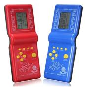 XENO-LCD Game Electronic vintage Tetris Brick handheld Arcade Game Travel Pocket toys