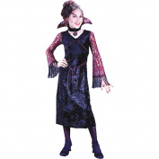 Morris Costumes Womens Gothic Lace Vampiress Ch Small