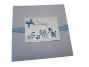 White Cotton Cards Christening Photo Album
