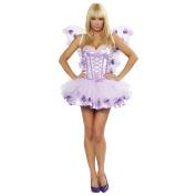 Lavender Fairy Adult Costume - Medium/Large