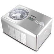 Della 1.5l Ice Cream Maker Machine and Fresh Frozen Yoghurt Sorbet with Stainless Steel and Display