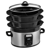 Crock-Pot® Choose-A-Crock Programmable Slow Cooker with Stackable Storage and Dishwasher Safe Stoneware and Lid
