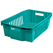Green plastic grate Efekt max 28L / 14kg