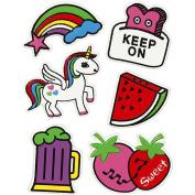 Soft Stickers, sheet 12,2x1775cm, Keep on, 1sheet