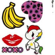 Soft Stickers, sheet 12,2x1775cm, XOXO, 1sheet