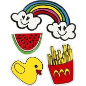 Soft Stickers, sheet 12,2x1775cm, Summer Fun, 1sheet