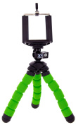 XSories MTRP2/GRE Bend 'N' Twist Flexible Mini Tripod with Smartphone Holder