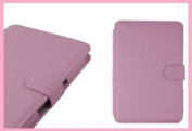 Proxima New Pink Kindle Folio Leather Case Cover With Magnetic Clasp for Amazon Kindle 4