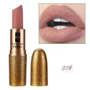 Xshuai Fashion Sexy Waterproof Long-Lasting Moisturiser Velvet Matte Lipstick Cosmetic Smooth Lip Gloss Makeup Kit for Women Girls