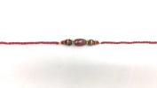 Traditional Meenakari Design and Beaded-Rakhi Thread/Rakhi Bracelet/Bhaiya Series