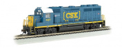 N GP40 Diesel CSX #4451 HTM w/Operating Headlights