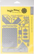 Waffle Flower Die-Pop-Up House