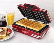 50s-Style Waffle Maker