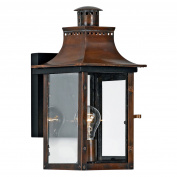 Quoizel Chalmers CM8408AC Outdoor Wall Lantern