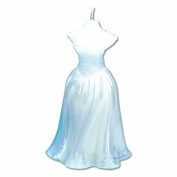 CLUB GREEN Bridal Mannequin Candle, White, 7 x 13 cm