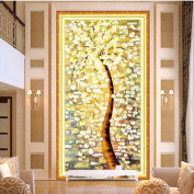 MORESAVE Fortune Tree Round Diamond Embroidery Painting Abstract Tree Paintings Decorate