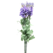 chendongdong 1 bouquets 10 Heads Artificial Lavender Silk Flower Wedding Home Party Decor for Display ,light purple