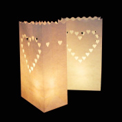 OurWarm Baby Tealight Holder Fairy Bag Luminaria Paper Lantern Candle Bag for Christmas Party Home Outdoor Wedding Decoration - Stile no. 4, 10 Stück