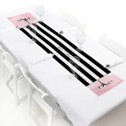 Paris, Ooh La La - Petite Baby Shower or Birthday Party Paper Table Runner 30cm x 150cm