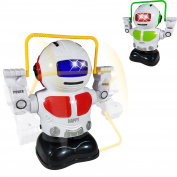 New Version Dancing Robot Toys for Kids - Cute Jump Rope Robot - Jumping, Signing and Cheerleading - Battery Operated Dancing and Flashing - Perfect Kids Toy for Girls and Boys