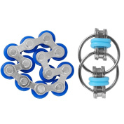 Duerger Fidget Toys, Flippy Chain Fidget Toy & Twelve Roller Chain Toy Set