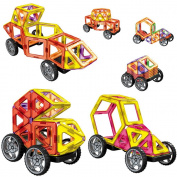 V Convey 58pcs Magnetic Kit Car Toy