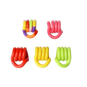 TOYMYTOY 5Pcs Tangle Toys Therapy Toy Handheld Game for Adult Kids