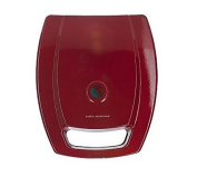 Cooks Essentials Nonstick Pancake Quesadilla and Omelette Maker - Red