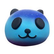 Gbell Starry Cute 10cm Panda Baby Cream Scented Squishy Slow Rising Squeeze Kids Toy