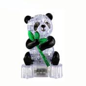 Gbell 3D Crystal Puzzle Cute Panda Model DIY Gadget Blocks Building Toy Gift BU
