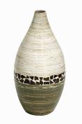 "Shiloh 50cm "" Spun Bamboo Vase"