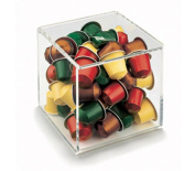 Nespresso View Collection Cube Capsule Dispenser / Holder For 50 Capsules