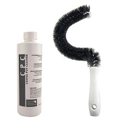 Coffee Pot Cleaning Kit - Commercial Grade Coffee Pot Cleaning Solution (500ml) & Coffee Pot Cleaning Brush