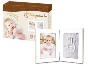 Small Hand Foot Footprint Photo Frame Baby Baptism Gift