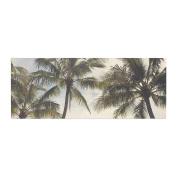 "KESS InHouse Catherine McDonald ""Boho Palms"" Coastal Trees Bed Runner, 90cm x 220cm"