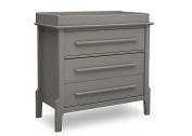 Serta Mid Century Modern 3 Drawer Dresser with Changing Top