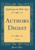 Authors Digest, Vol. 18