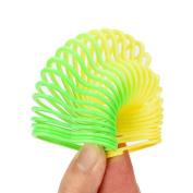 Mini Magic Rainbow Springs Slinky, Ounice Circles Slinky Kill Time Rainbow Spring Slinky Toy for Kids Adults