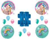 JOJO SIWA HASHTAG BIRTHDAY PARTY Balloons Decorations Supplies Bow Rainbow