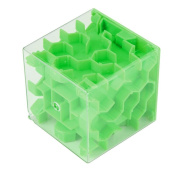 E-SCENERY Mini 3D Magic Maze Puzzle Ball Cube Game Toys, Brain Teaser Game Learning Education Puzzle Box Toys Gifts Hard difficulty